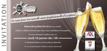 18 janvier : Networking Marchin &Co